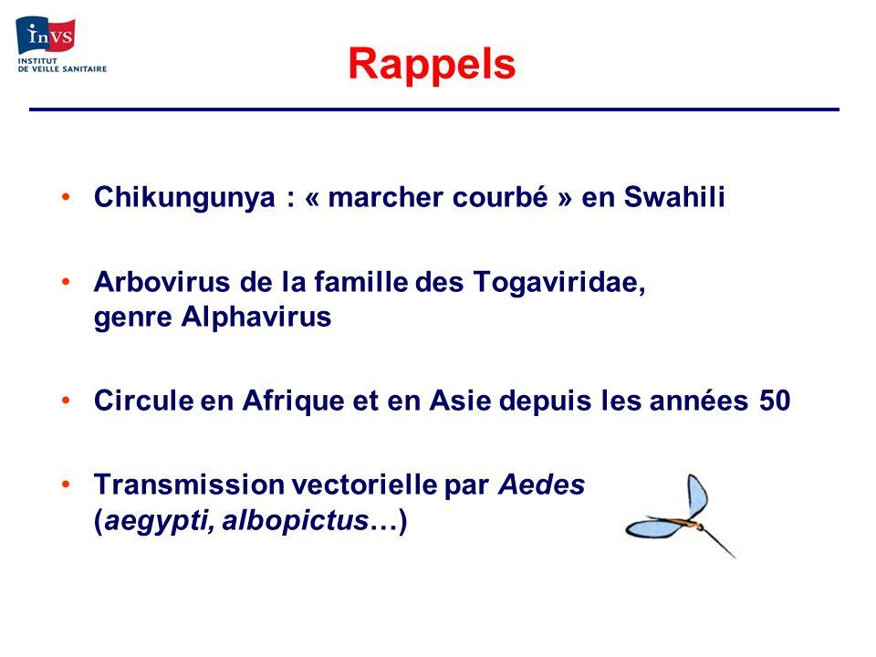 Rappels Chikungunya : « marcher courbé » en Swahili