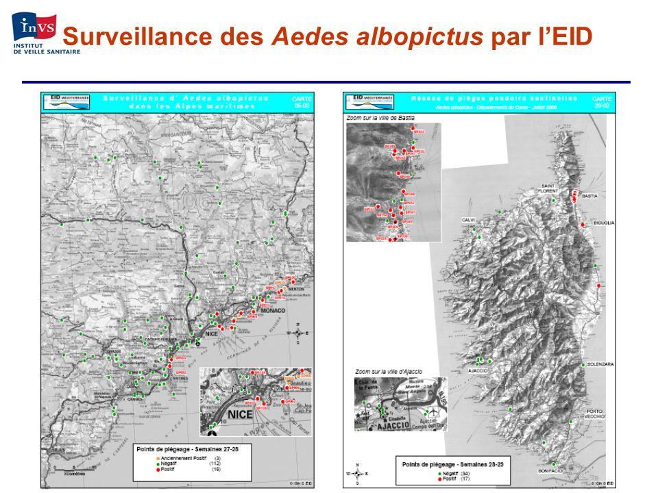 Surveillance des Aedes albopictus par l'EID