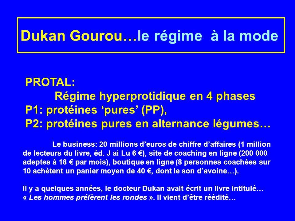 Dukan Gourou…le régime à la mode