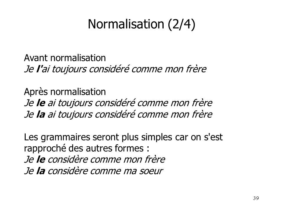 Normalisation (2/4)