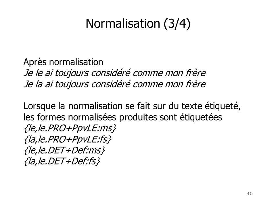 Normalisation (3/4)