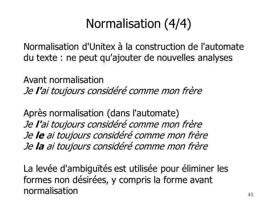 Normalisation (4/4)