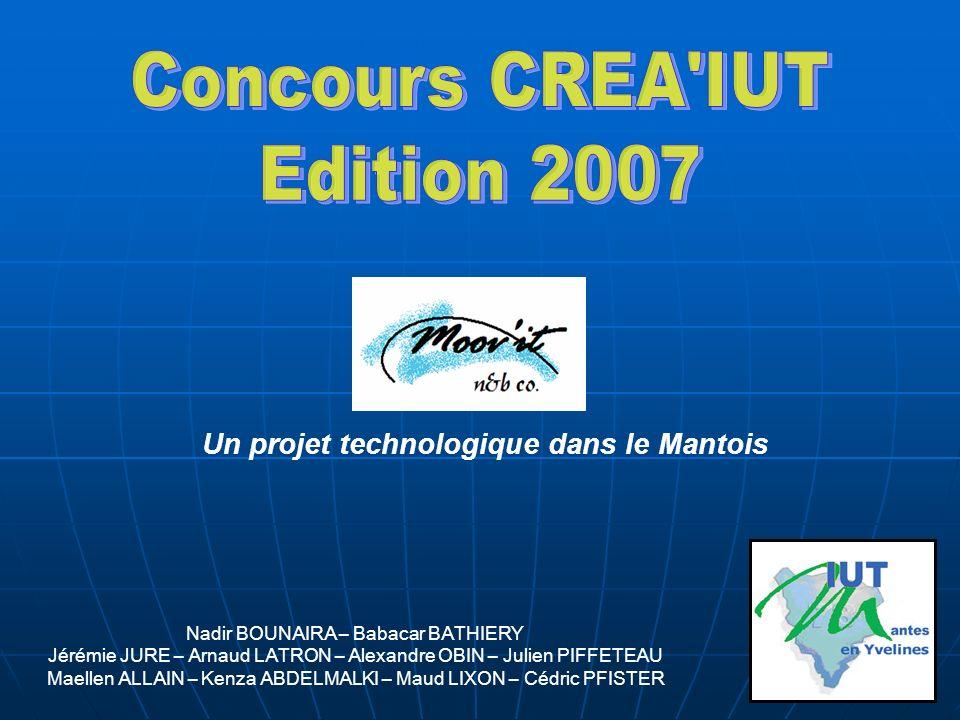 Concours CREA IUT Edition 2007 Un projet technologique dans le Mantois