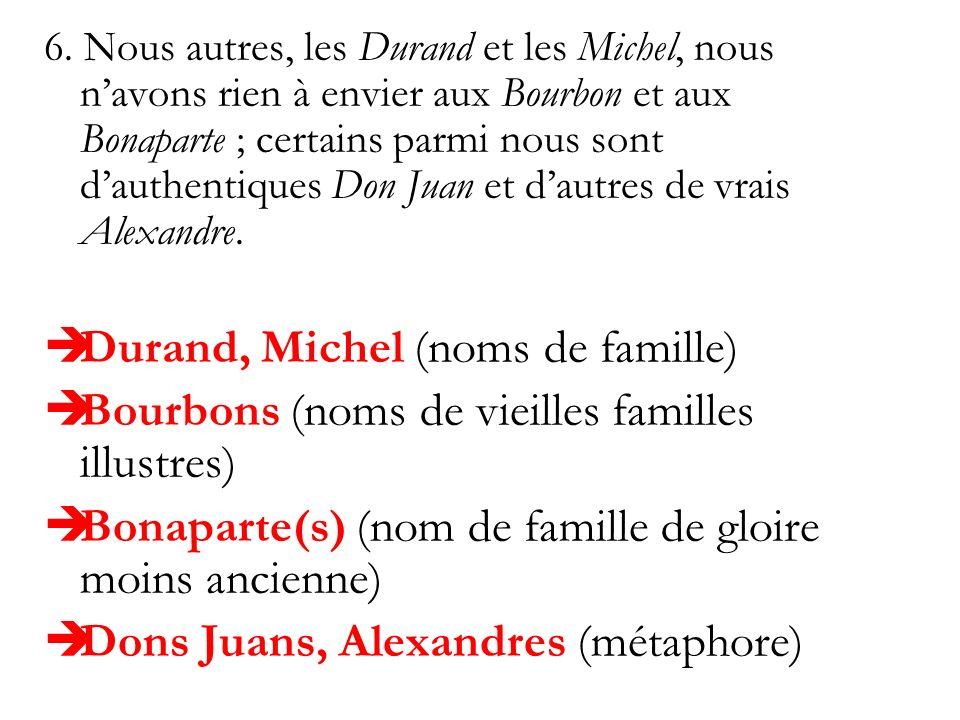 Durand, Michel (noms de famille)