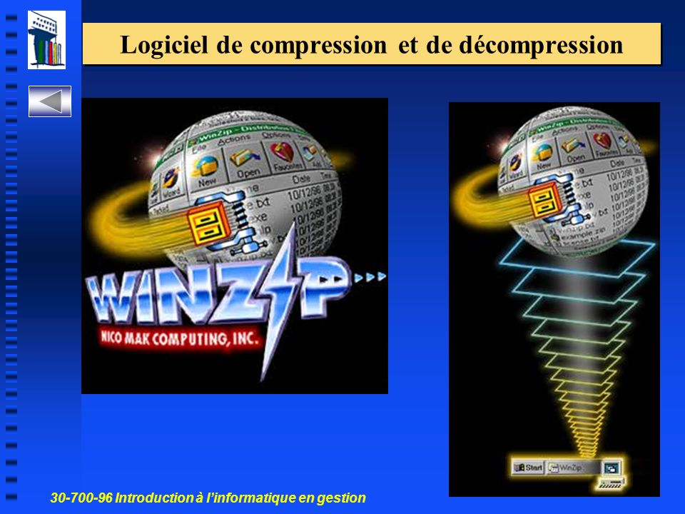 Logiciel de compression et de décompression