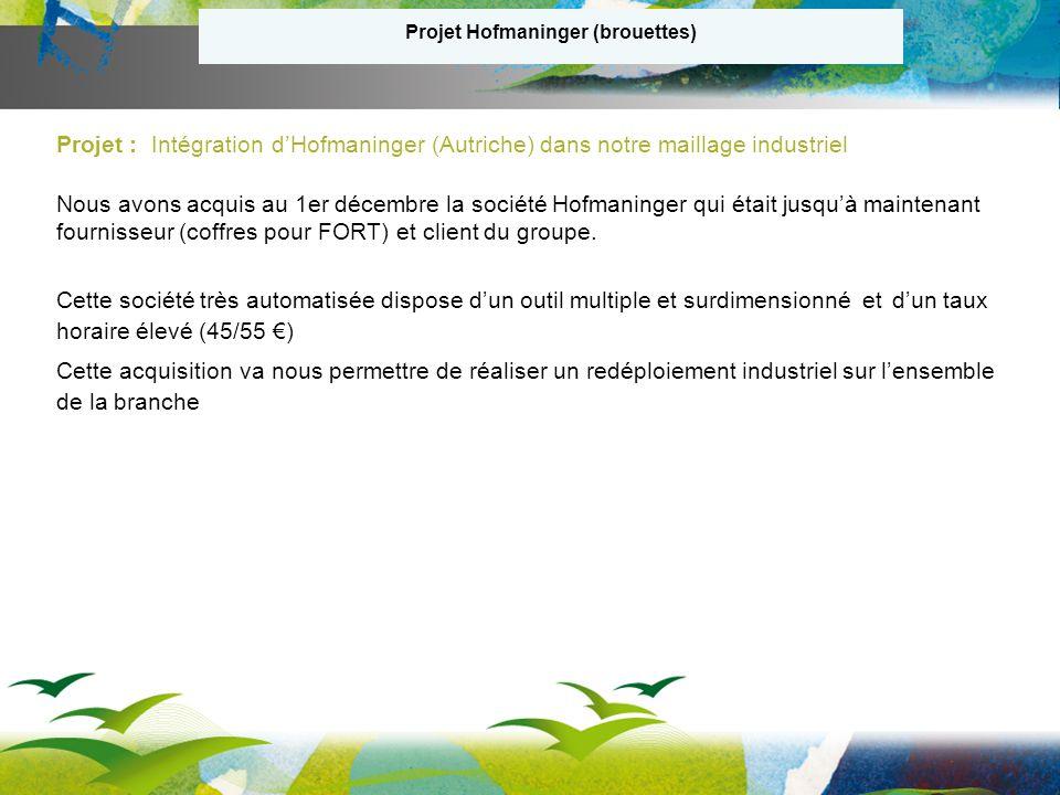 Projet Hofmaninger (brouettes)