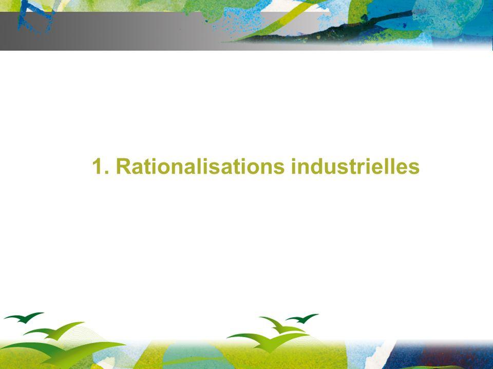 1. Rationalisations industrielles