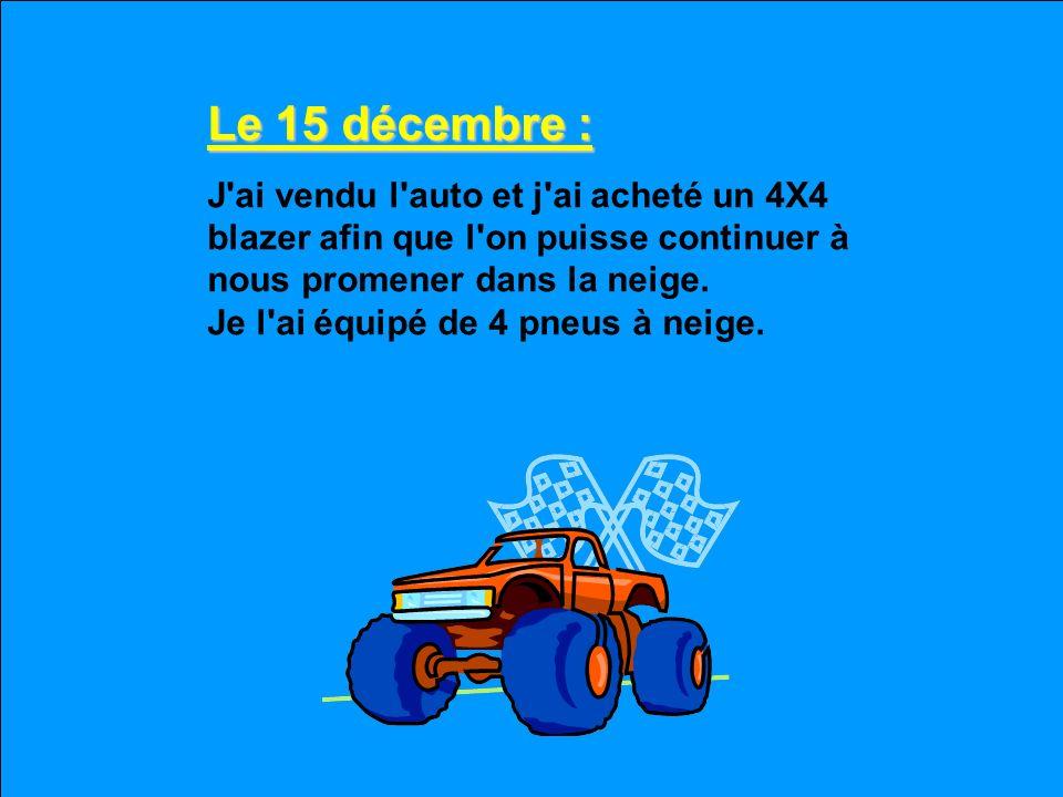 Le 15 décembre :