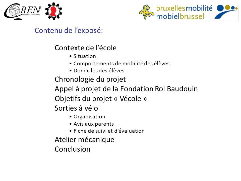 Appel à projet de la Fondation Roi Baudouin