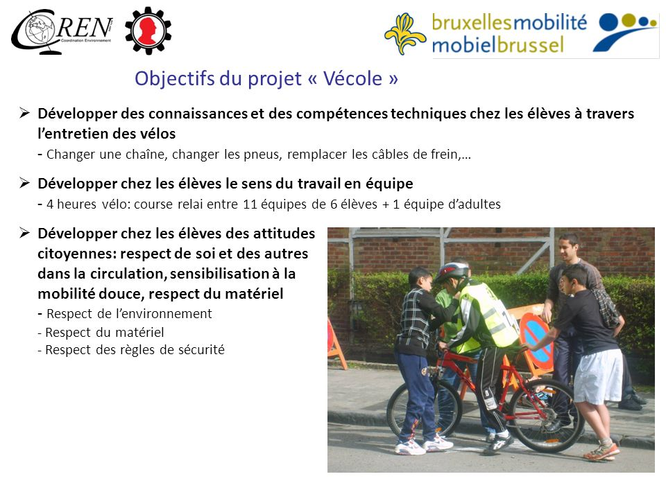 Objectifs du projet « Vécole »
