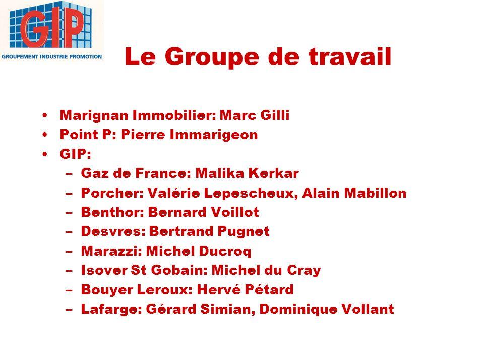 Le Groupe de travail Marignan Immobilier: Marc Gilli