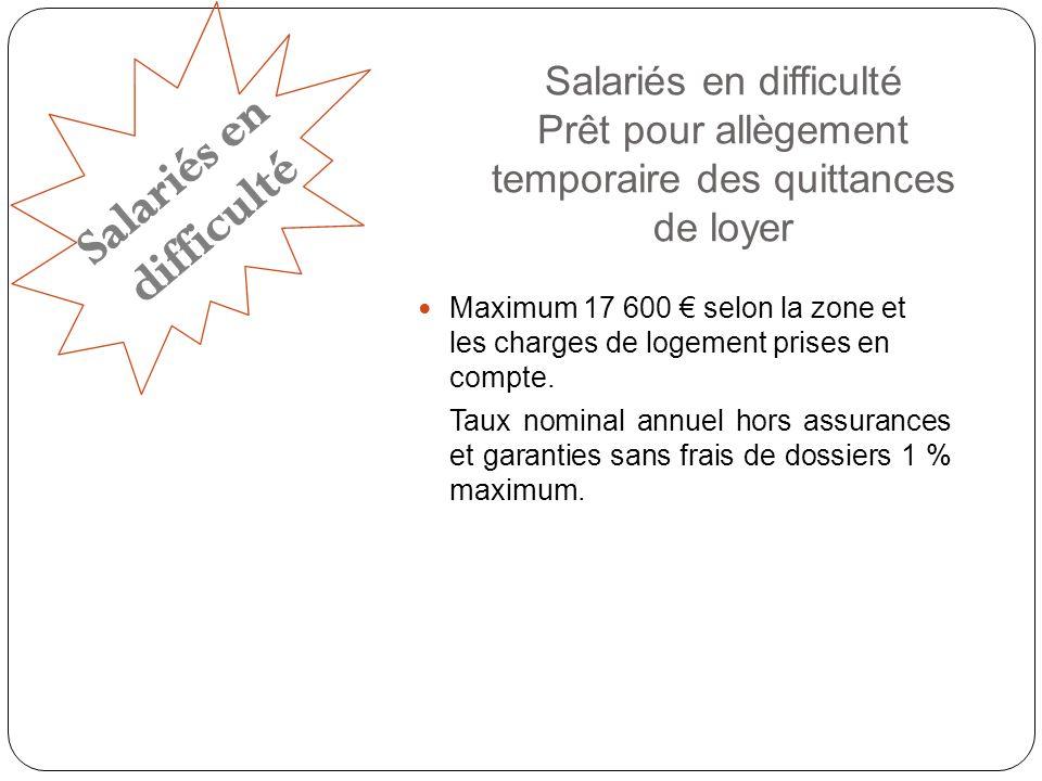 Salariés en difficulté