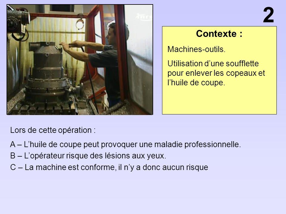 2 Contexte : Machines-outils.