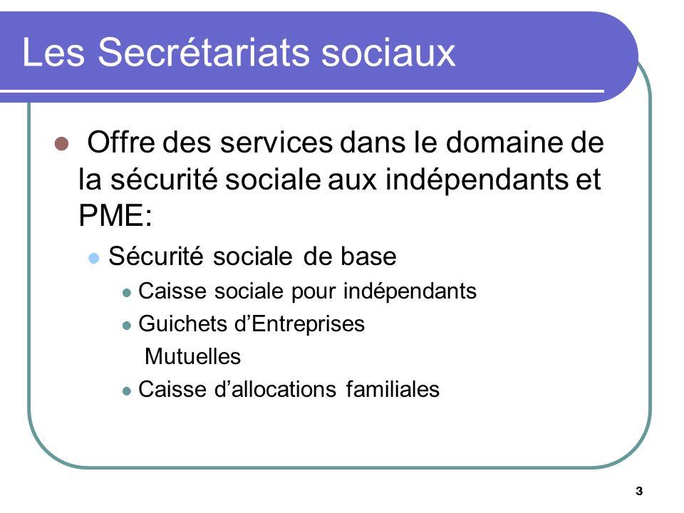 Les Secrétariats sociaux