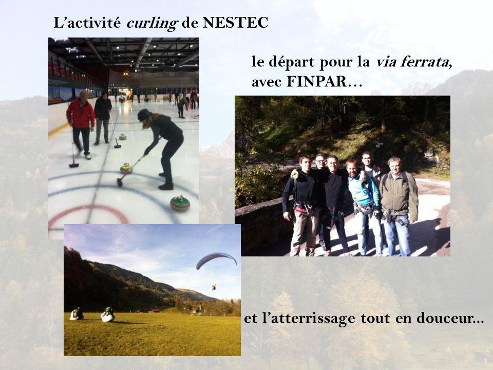 L'activité curling de NESTEC
