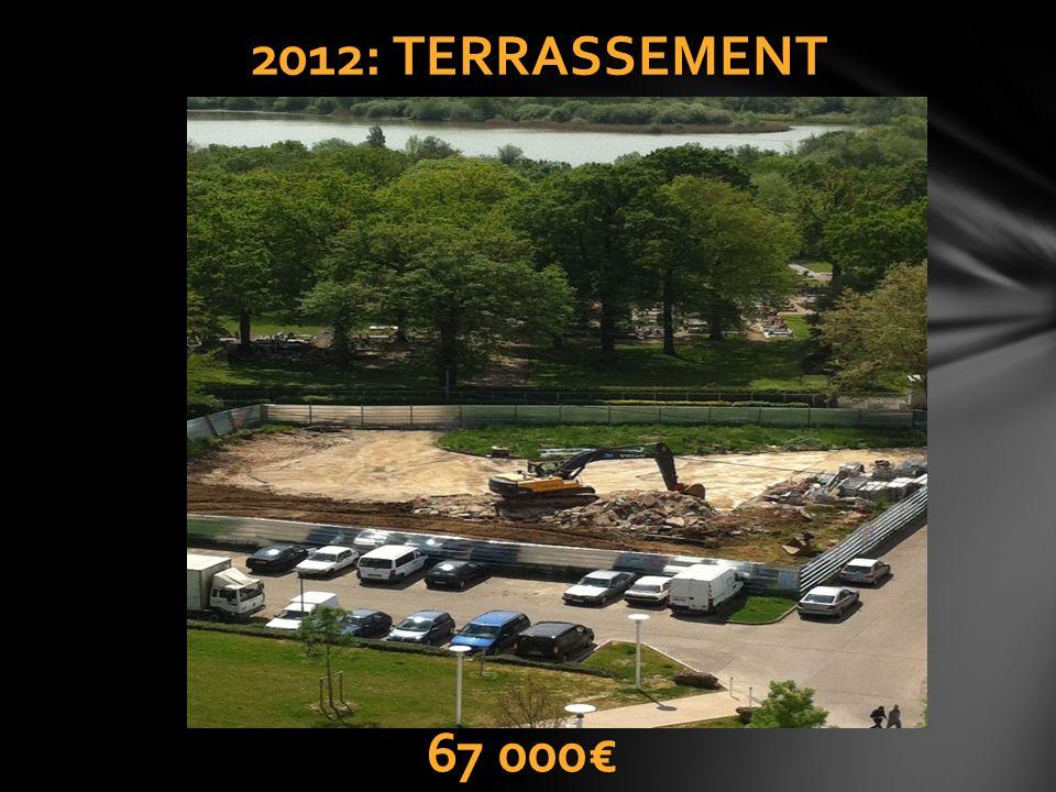 2012: TERRASSEMENT 67 000€