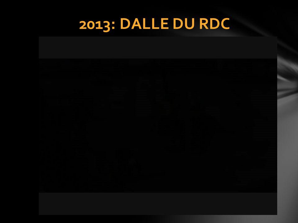 2013: DALLE DU RDC