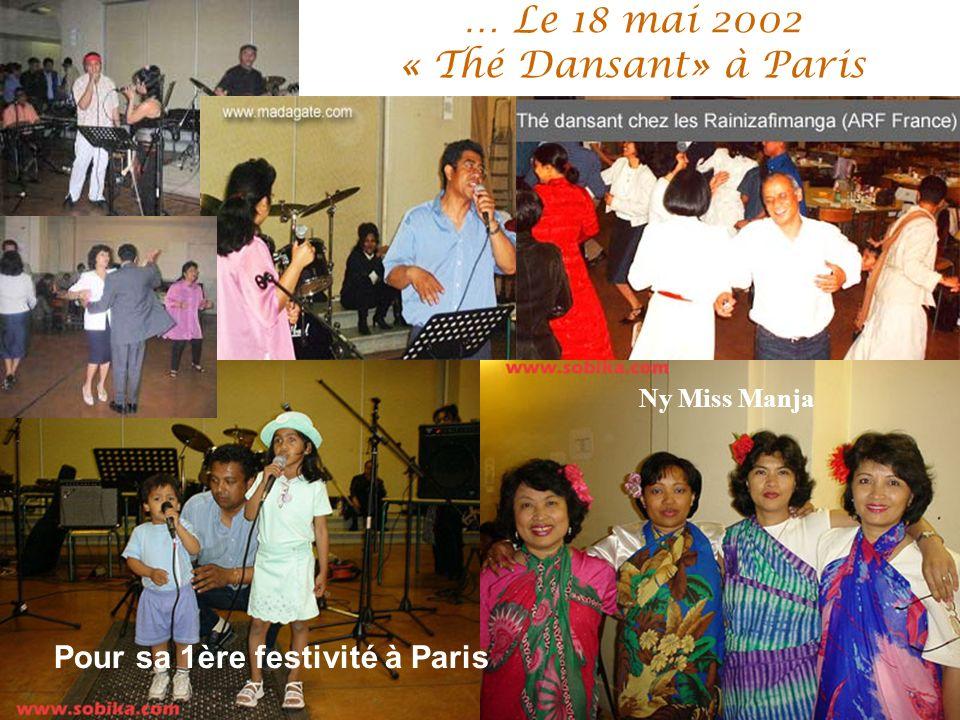 … Le 18 mai 2002 « Thé Dansant» à Paris