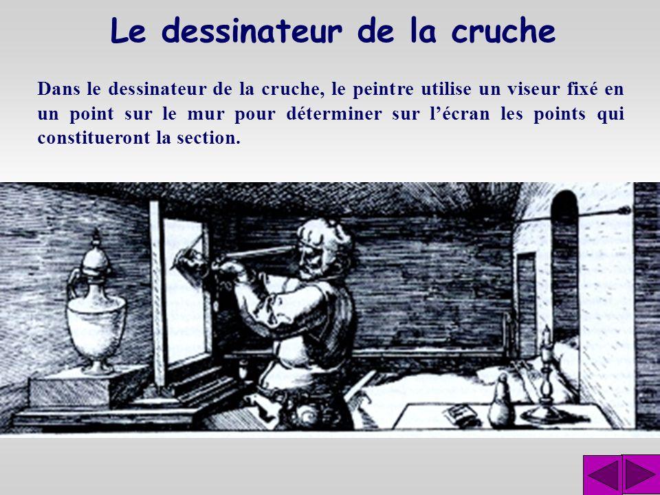 Le dessinateur de la cruche