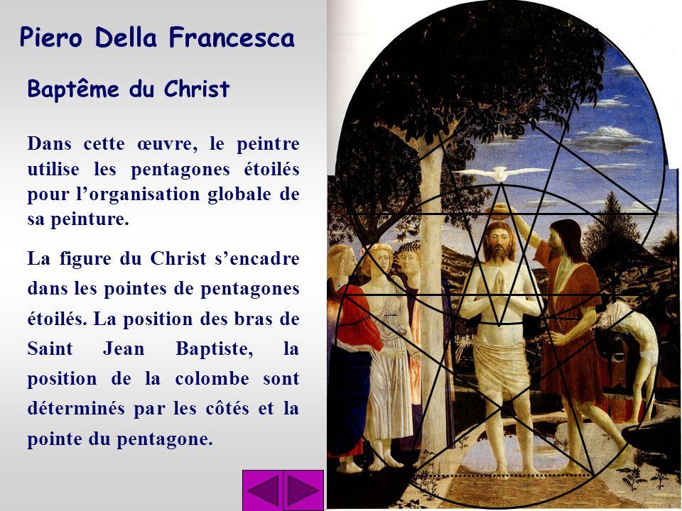 Piero Della Francesca Baptême du Christ