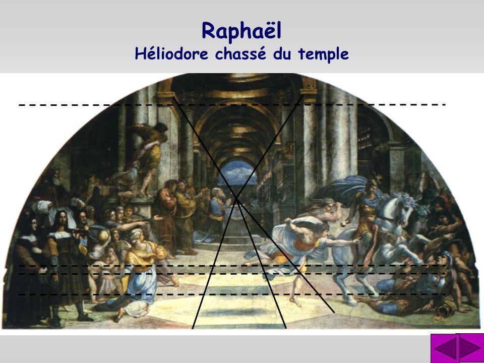 Raphaël Héliodore chassé du temple