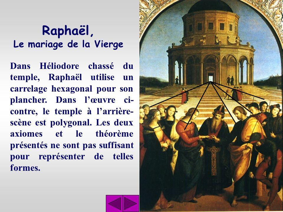 Raphaël, Le mariage de la Vierge