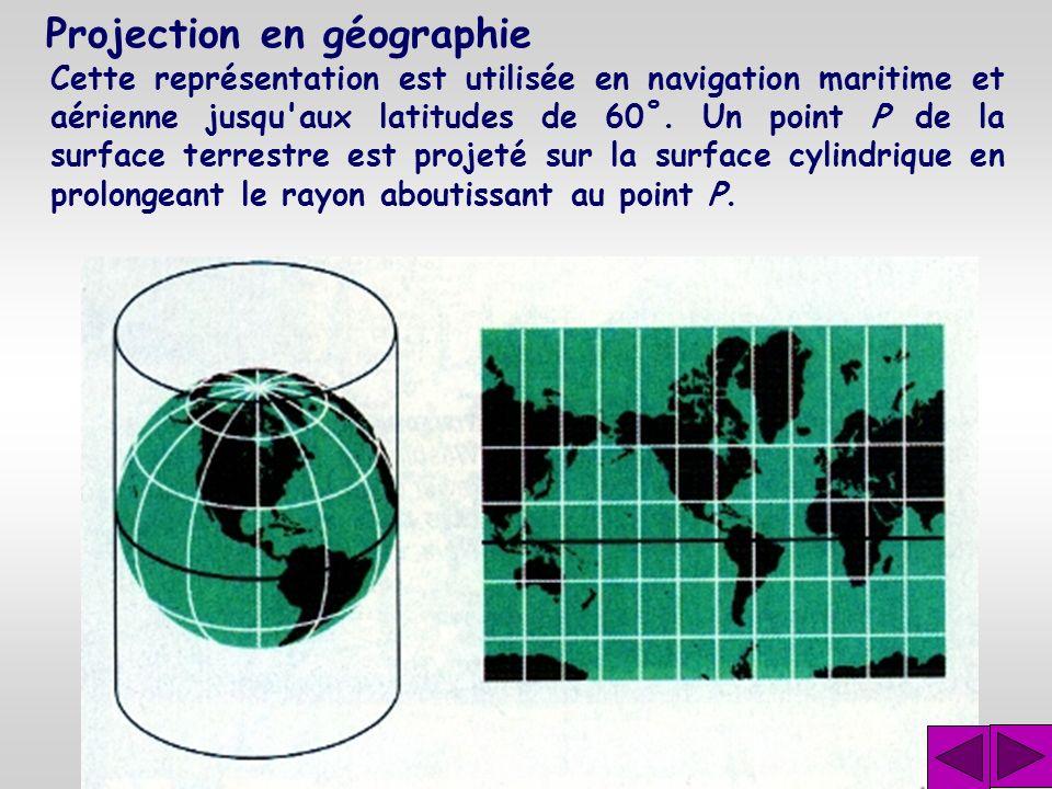 Projection en géographie