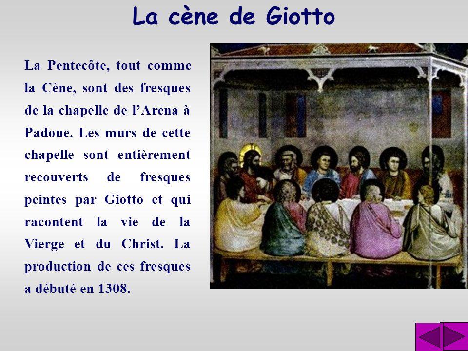 La cène de Giotto