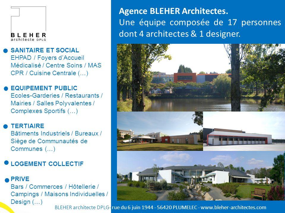 Agence BLEHER Architectes.