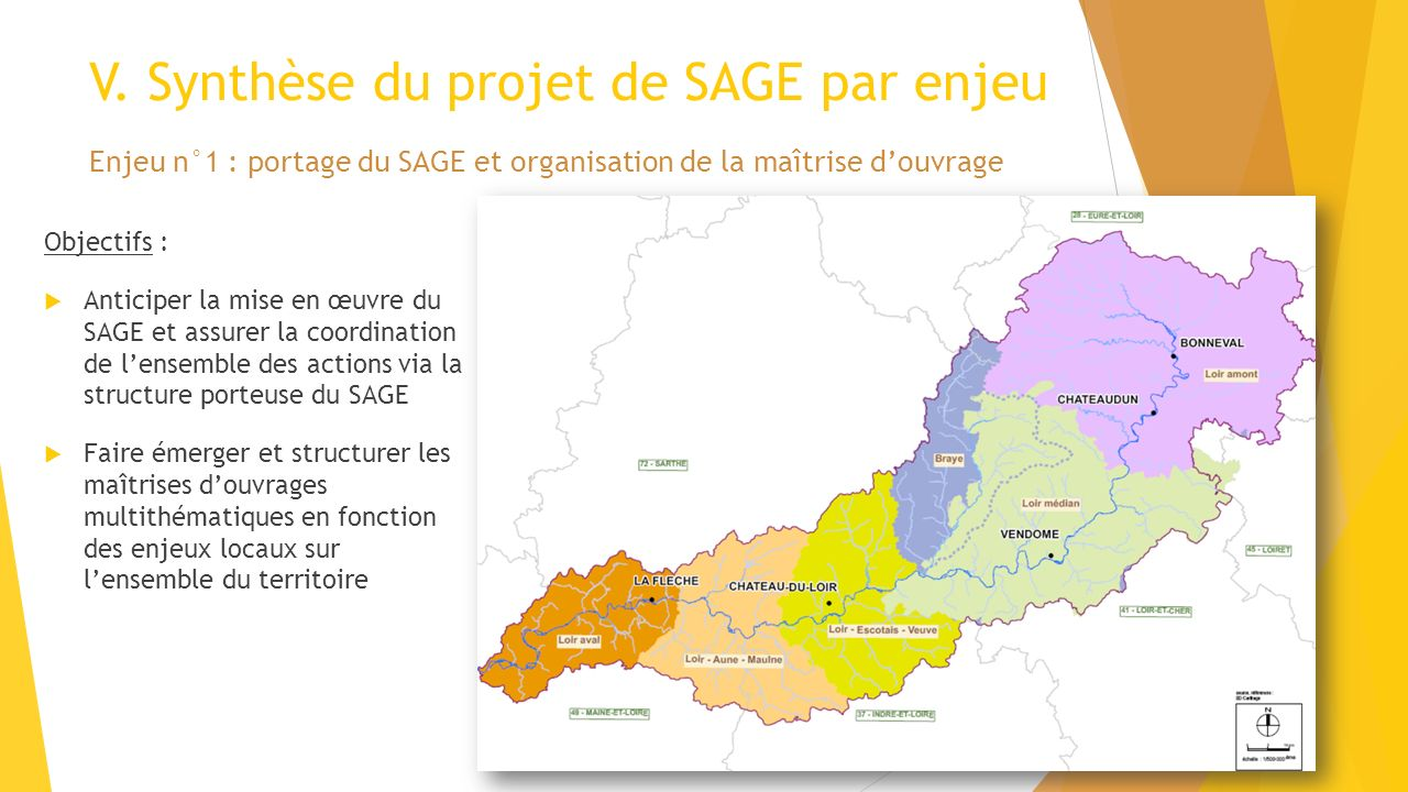 V. Synthèse du projet de SAGE par enjeu