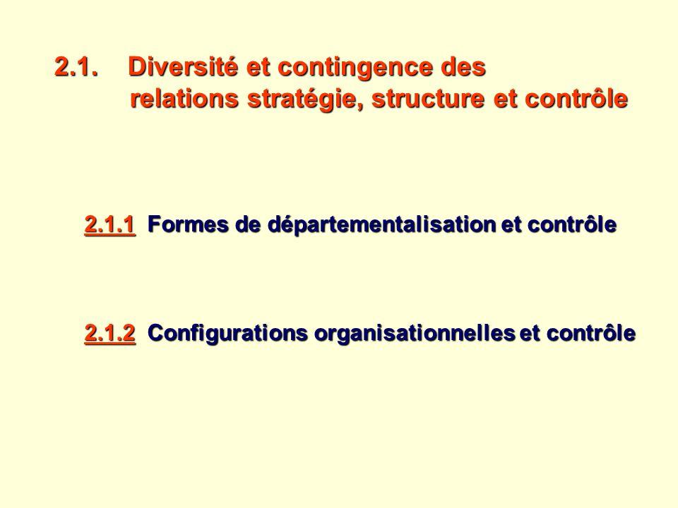 2. 1. Diversité et contingence des