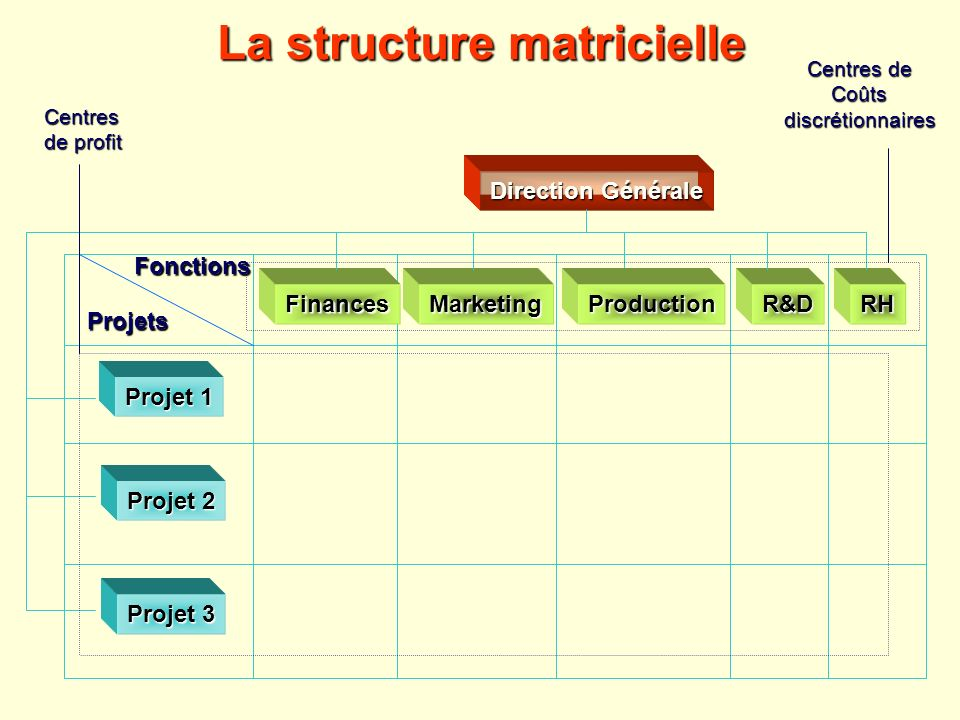 La structure matricielle