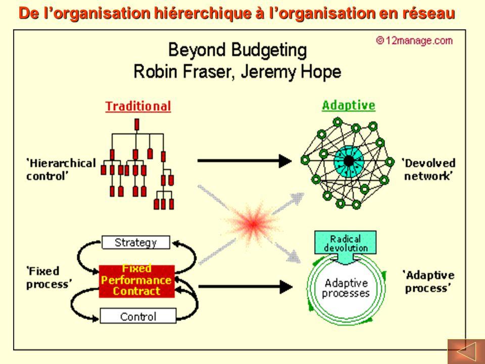 De l'organisation hiérerchique à l'organisation en réseau