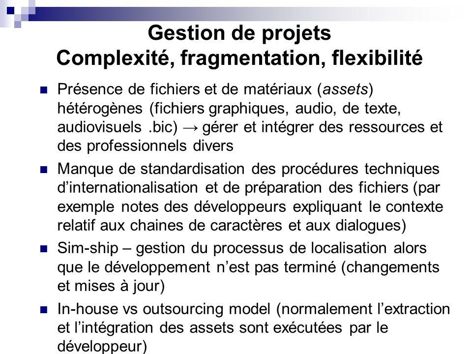 Complexité, fragmentation, flexibilité