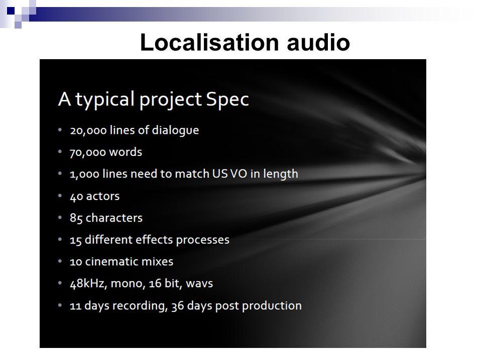 Localisation audio 6
