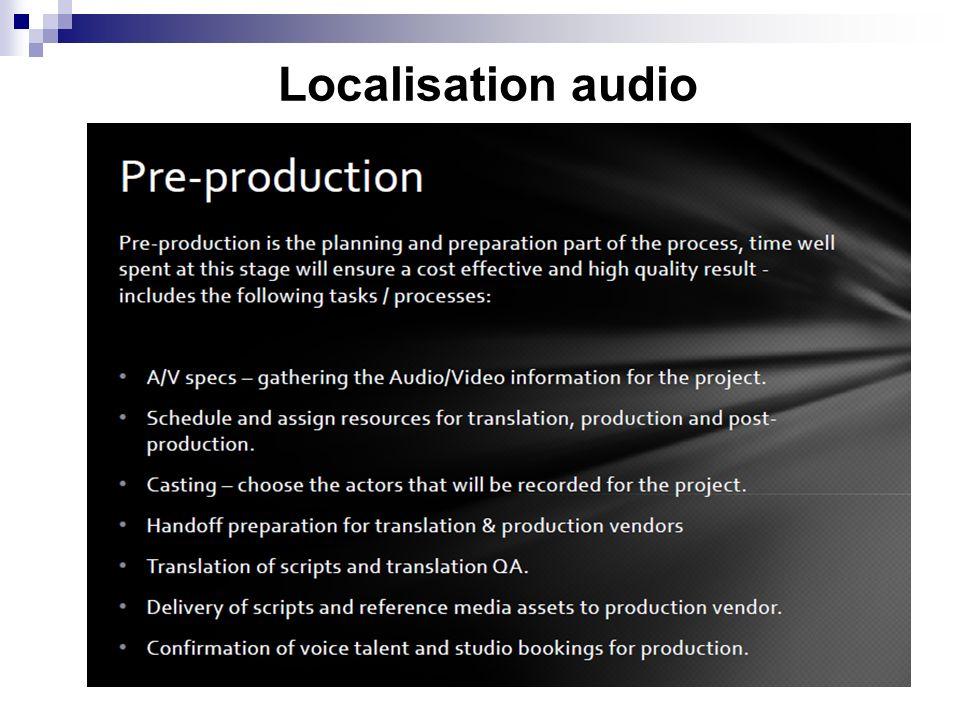Localisation audio 7