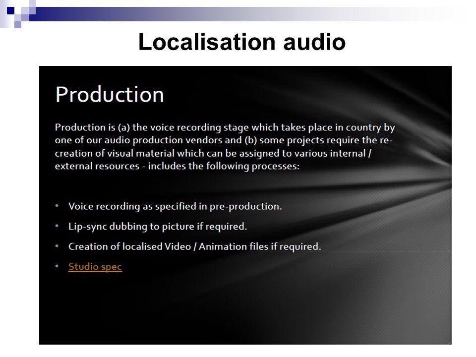 Localisation audio 8