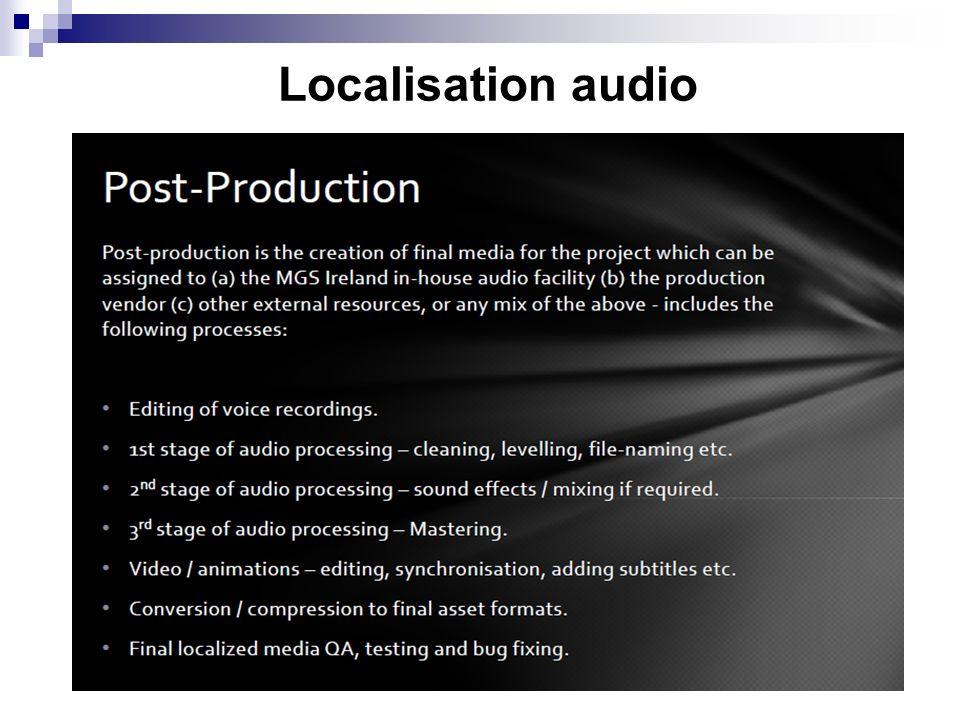 Localisation audio 9