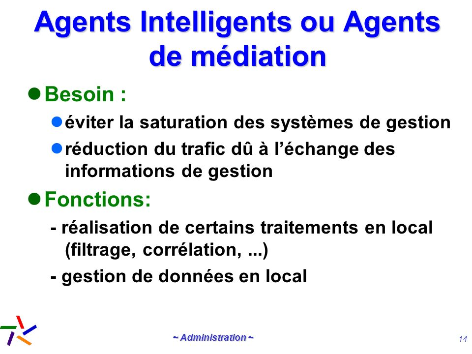 Agents Intelligents ou Agents de médiation