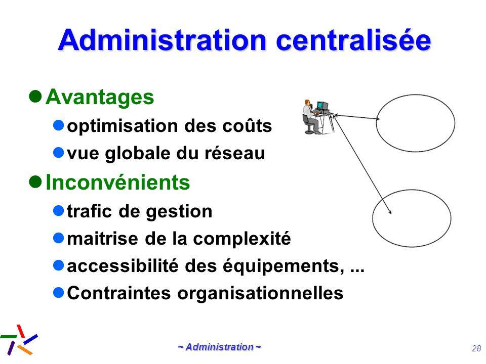 Administration centralisée