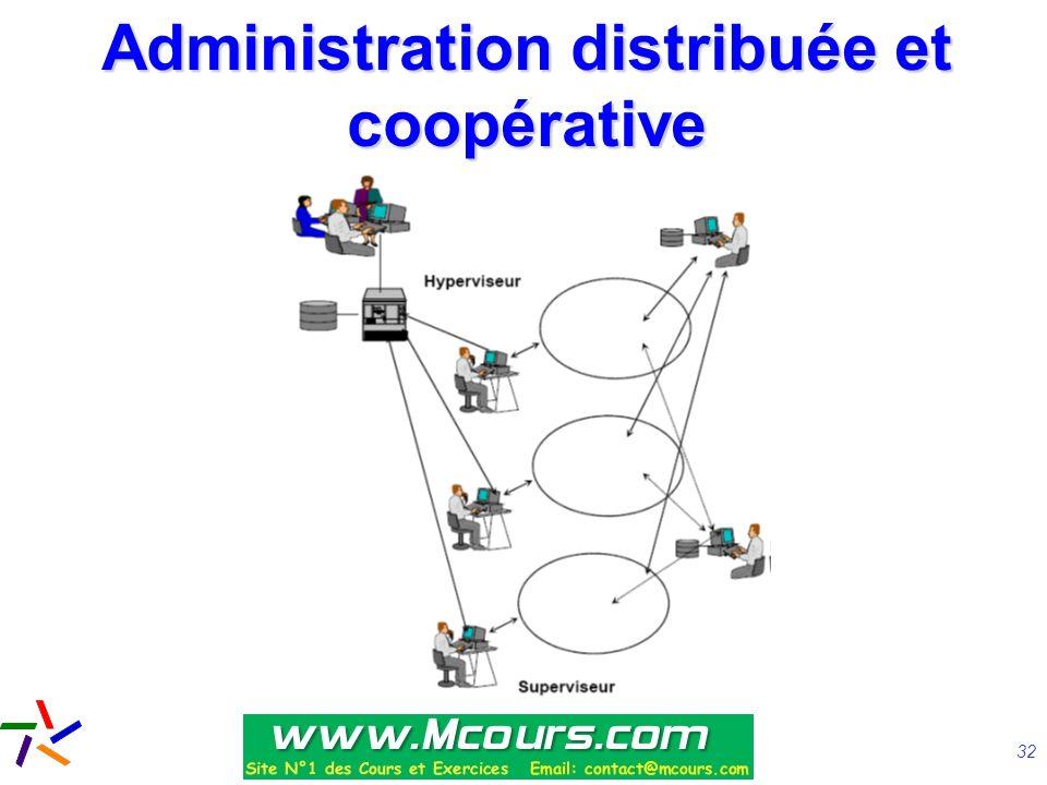 Administration distribuée et coopérative