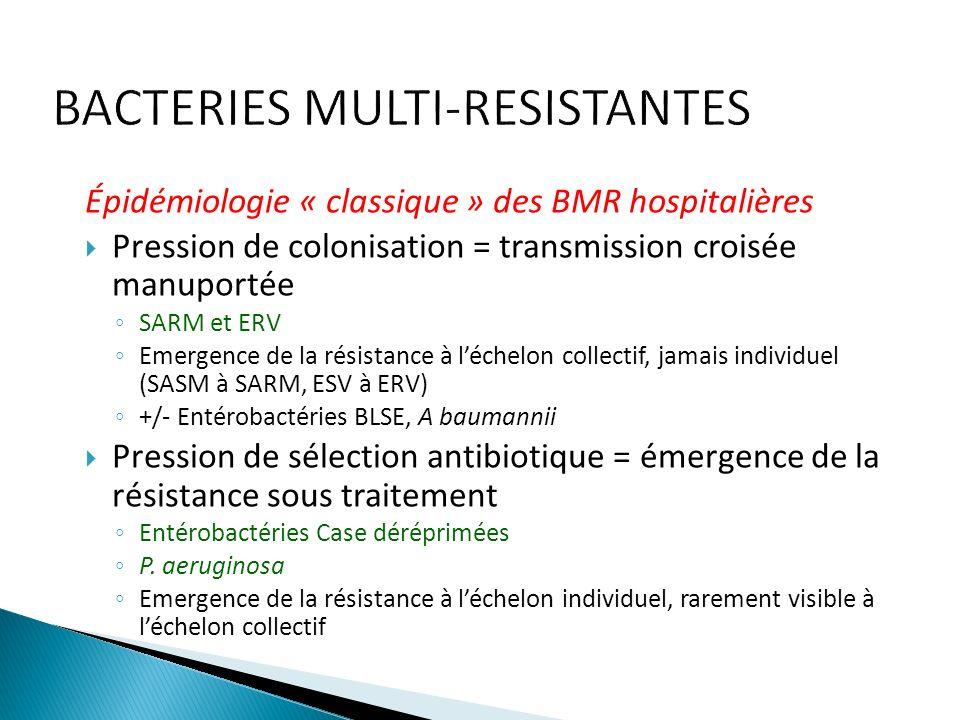 BACTERIES MULTI-RESISTANTES