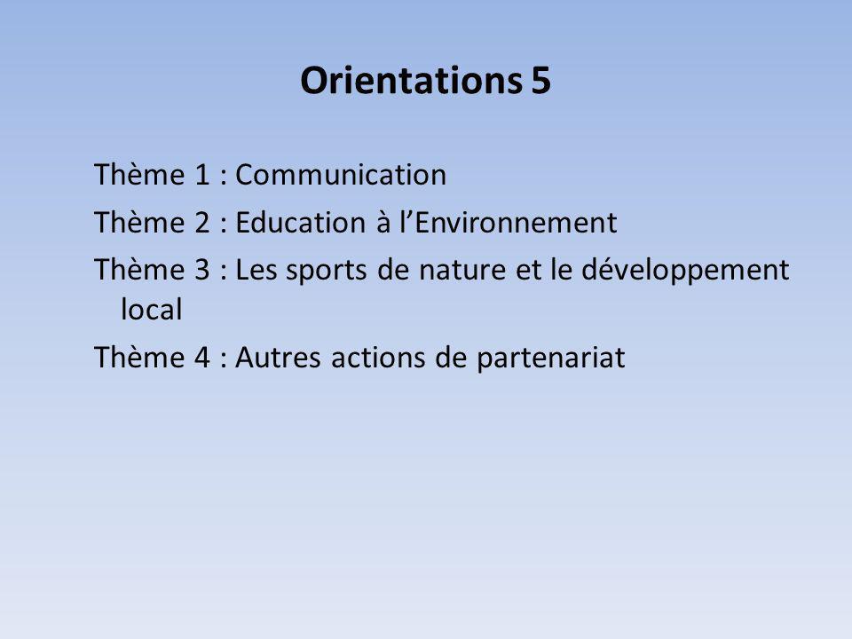Orientations 5