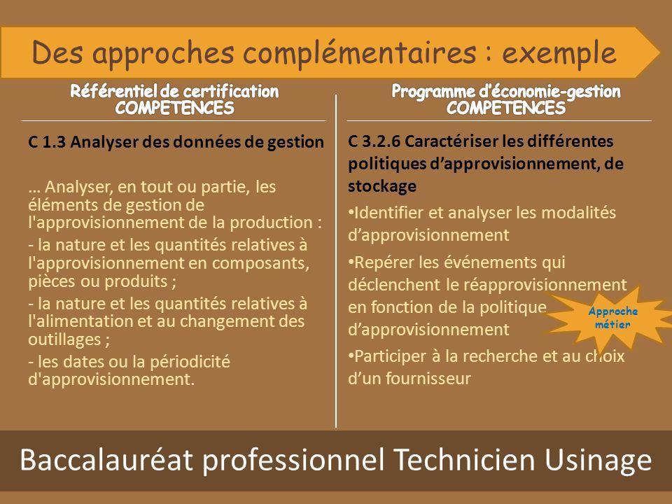 Baccalauréat professionnel Technicien Usinage