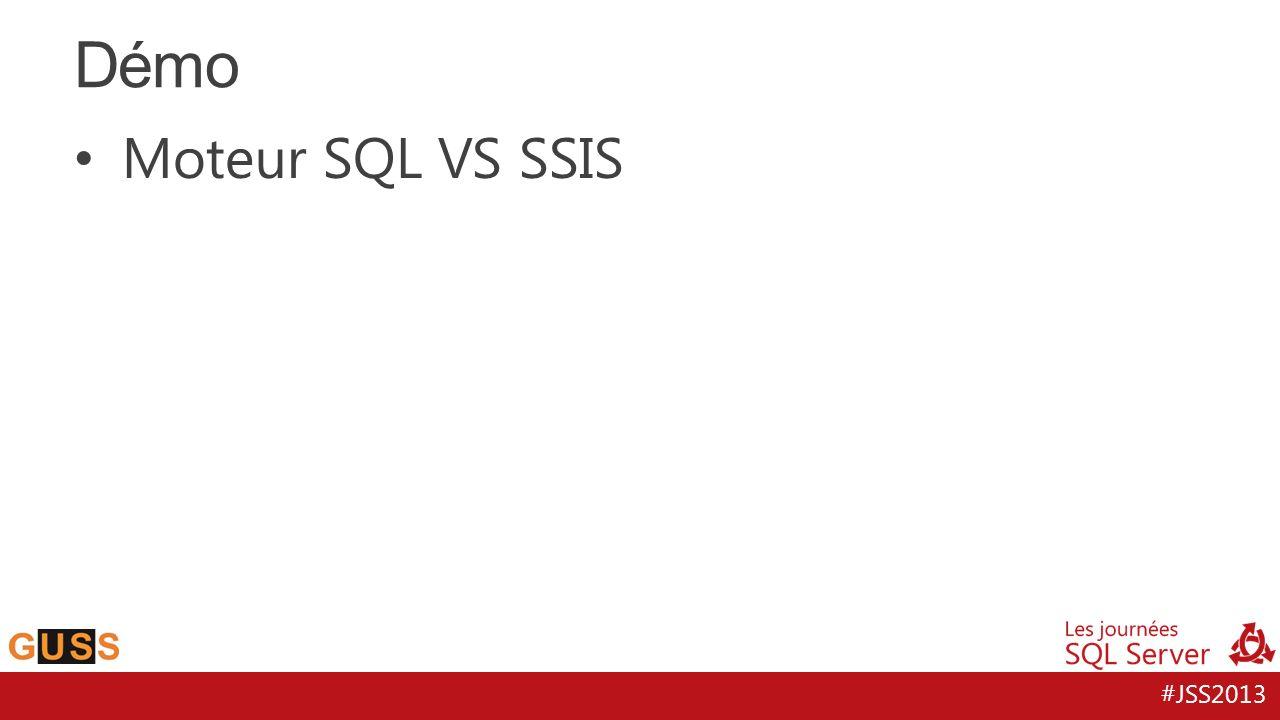 Démo Moteur SQL VS SSIS