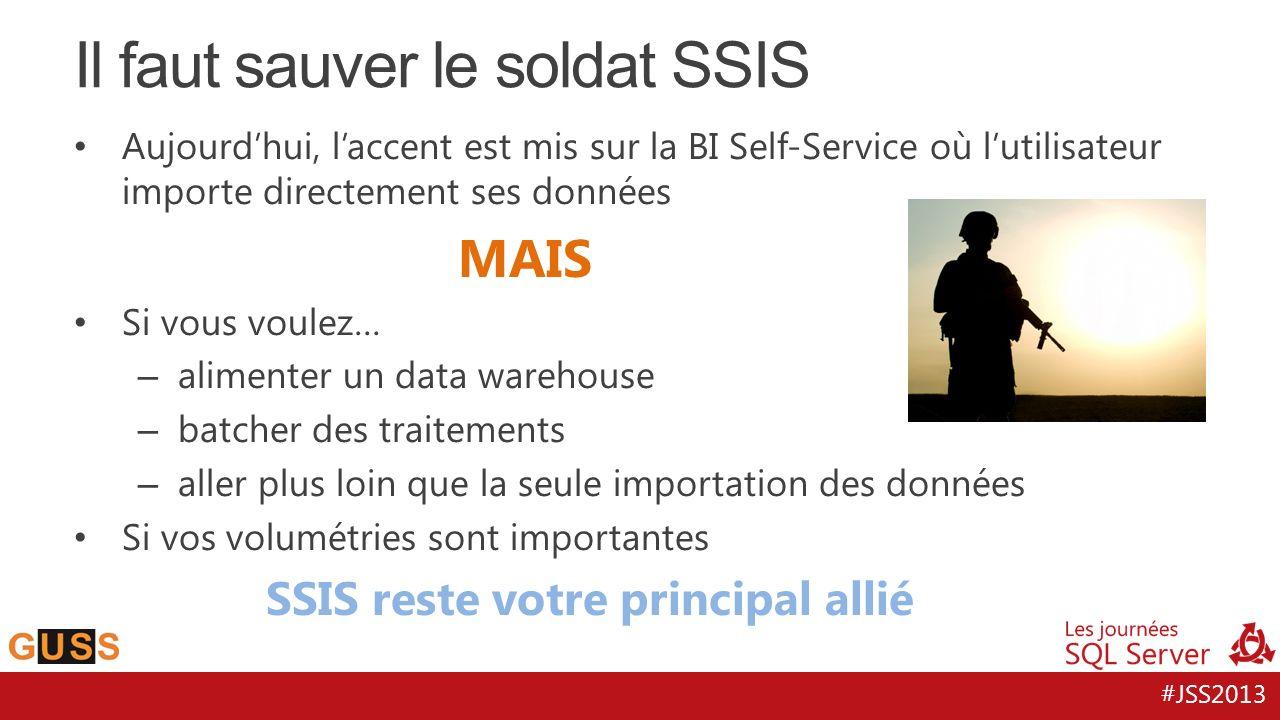 Il faut sauver le soldat SSIS