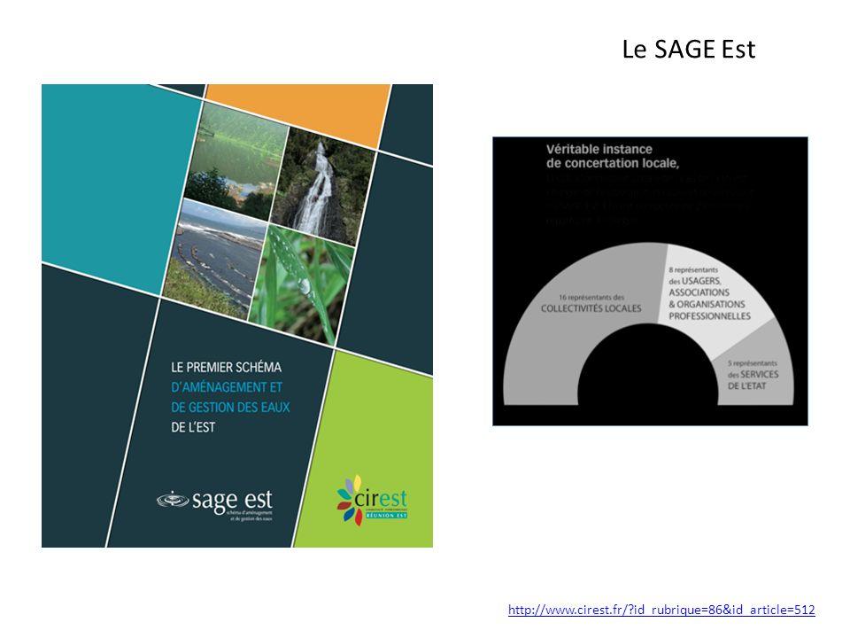 Le SAGE Est http://www.cirest.fr/ id_rubrique=86&id_article=512