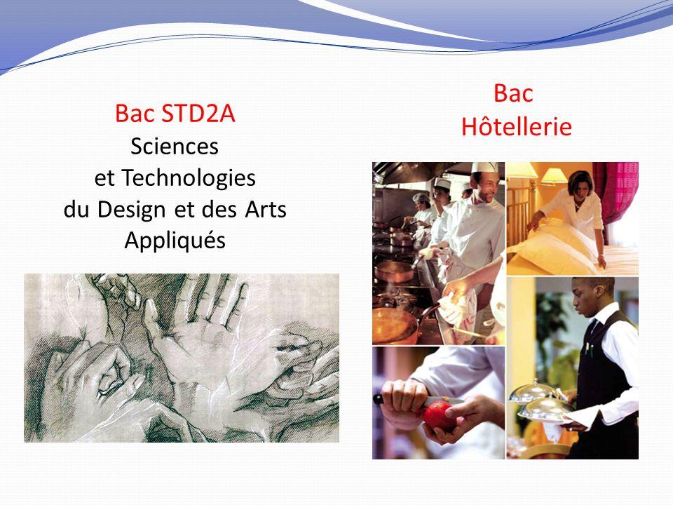 Bac STD2A Sciences et Technologies du Design et des Arts Appliqués