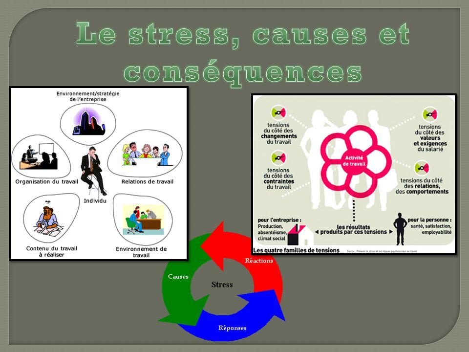 Le stress, causes et conséquences