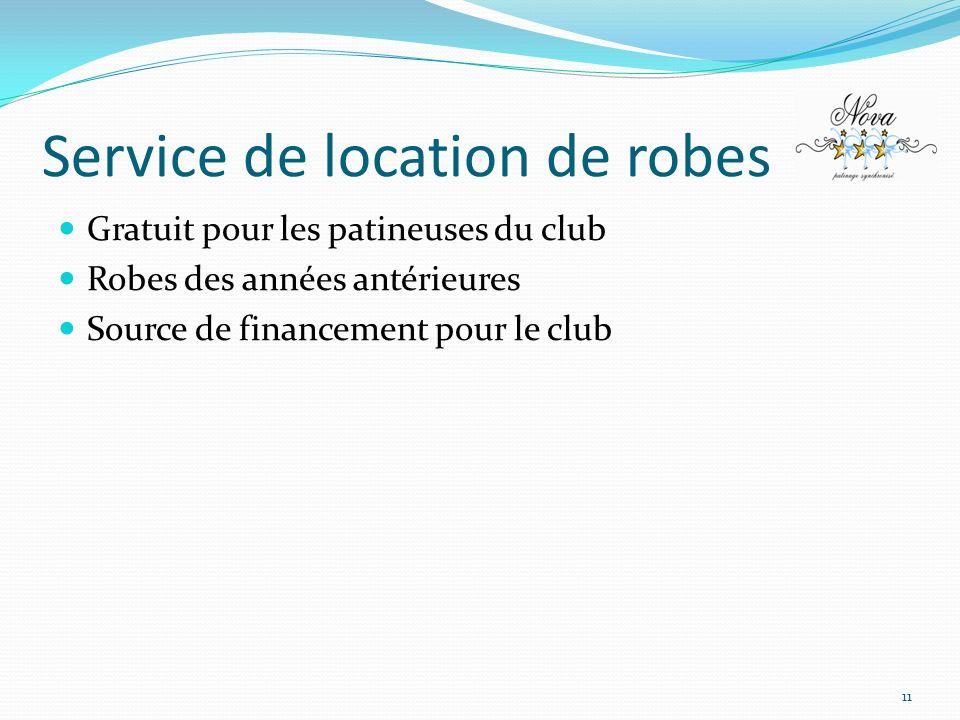 Service de location de robes